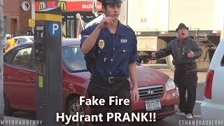 GIVING AWAY FREE TICKETS! FIRE HYDRANT PARKING TICKET PRANK!!