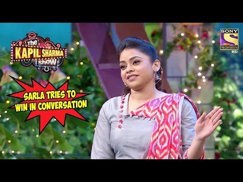Xxx Mp4 Sarla Tries To Win In Conversation The Kapil Sharma Show 3gp Sex