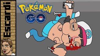 El peligro de Pokémon GO [ Parodia Animada ]