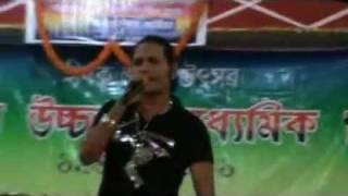 Bidyasagar singing 'Bhulotu nasaba tumi' @Narayanpur