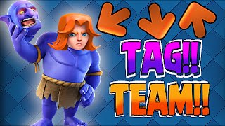 Clash Of Clans - VALKYRIE MAN & BOWLER BRO!!! (Epic Tag Team in War)
