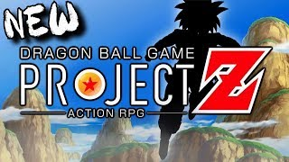 NEW Dragon Ball Video Game REVEALED! Action RPG! PROJECT Z