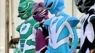 Power Rangers Jungle Fury - Spirit Rangers Join Team ('One Last Second Chance' Episode)