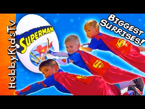 Xxx Mp4 Giant SUPERMAN Egg Adventure With The HobbyKids 3gp Sex