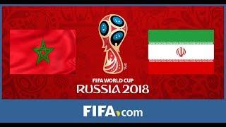 PES 2018 World Cup Sim -  Morocco Vs Iran