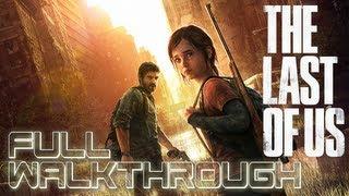 The Last Of Us - Full Walkthrough All Gameplay & Cutscenes (Movie Marathon Edition)