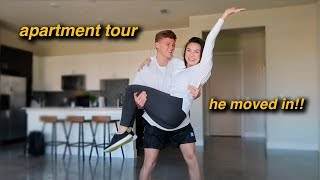Boyfriend Apartment Tour! He Finally Moved In!