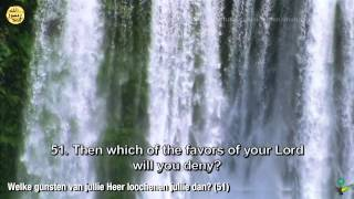Surah Ar-Rahmaan (55) - NL & ENG] - Nederlands ondertiteld!