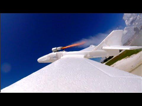 DIY Rocket Powered Plane
