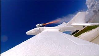 DIY Rocket Powered Plane!