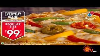 Dominos Pizza tamil ad