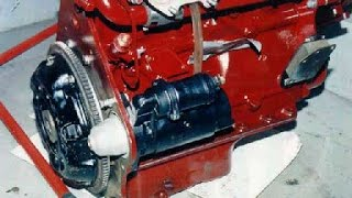 Three phase car engine starter repair
