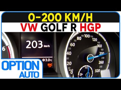 ★ 0-200 km/h • 480hp VW Golf R HGP (Option Auto)