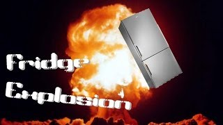 Fridge Explosion at The Mess!!!