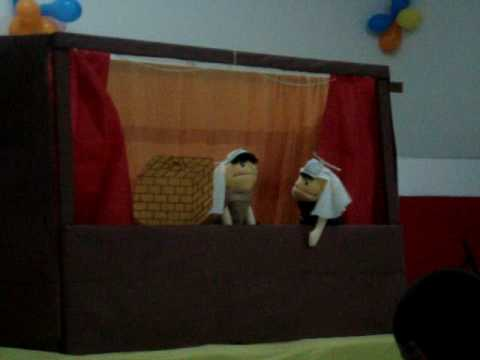 Davi & Golias Amim Camargo Teatro de Fantoches