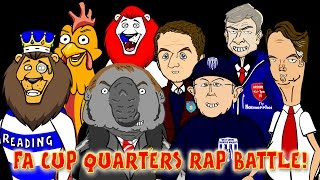 Man Utd vs Arsenal 1-2 ☕️FA CUP QUARTER FINAL RAP BATTLES☕️ (Liverpool, Aston Villa...)