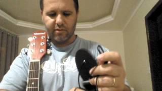 Como fazer o laço para prender a alça do violão