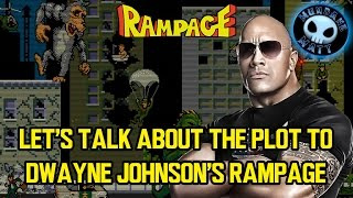 Let's talk about the plot to Dwayne Johnson's RAMPAGE