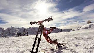 New generation of skibike