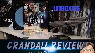 STAR TREK BEYOND 4K Ultra HD/3D/2D bluray Amazon Gift Set Unboxing