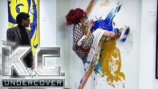 K.C. Undercover - Clip aus Staffel 2: K.C. als Künstlerin | Neue Folgen im Disney Channel