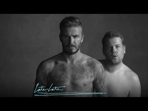 David Beckham and James Corden s New Underwear Line