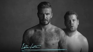 David Beckham and James Corden's New Underwear Line