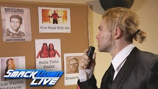 Tyler Breeze continues his search for Fandango in