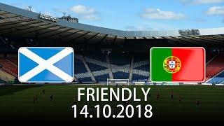 Scotland vs Portugal - International Friendly - PES 2019