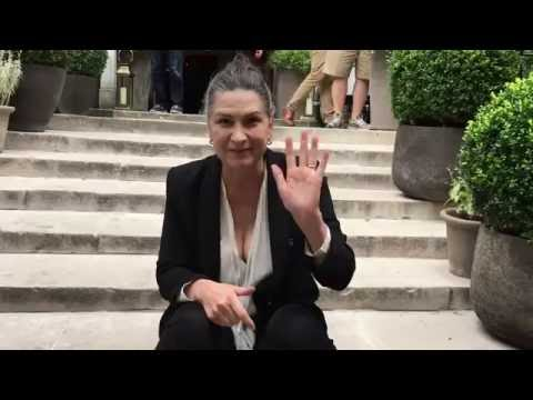 Thank you video message from Pamela Rabe