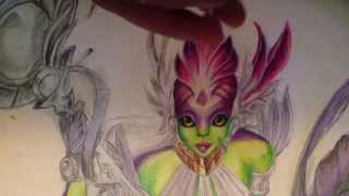 Colored pencil tutorial: tips and tricks for beginners