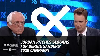 Jordan Pitches Slogans for Bernie Sanders