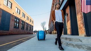 Cargo robot: Vespa unveils Gita robot that can carry your groceries - TomoNews