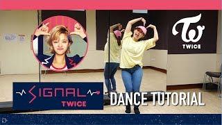 TWICE SIGNAL Dance Tutorial | Full w Mirror [Charissahoo]