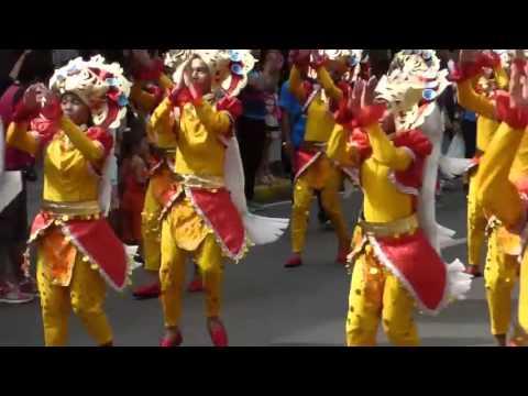 SINULOG. TALENTED CHILDREN PARTICIPANTS KABATAAN. STREET DANCING. CEBU.