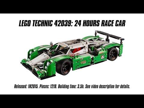 Lego Technic 42039 24 Hours Race Car Unboxing Speed Build & Review Sariel s LEGO Technic Den