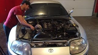 Lifetime Supra Project Part 2. Engine is out.