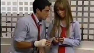 Anahí en Rebelde - 1ª Temporada Capítulo 181 - Beso Robado