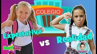 EXPECTATIVA VS REALIDAD  vuelta al COLEGIO   Regreso a la ESCUELA