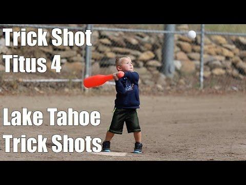 Trick Shot Titus 4 | Lake Tahoe Trick Shots