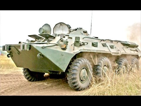 AWESOME International APC Military Vehicle race
