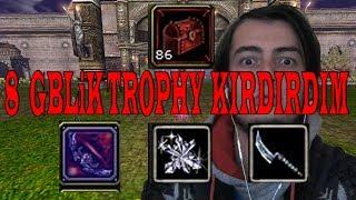Knight Online Tam 8 GBlik 50x Trophy of Flame Drop | Uniqe İtem Kırdırma 2018