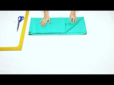कम कपड़े में ज्यादा घेर की सलवार || Simple Joint Salwar Cutting Easy Method