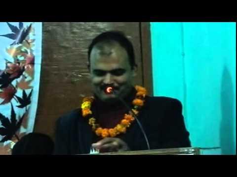 Vijay kumar chaube Manu @ Nav Hastakshar Kavygoshthi