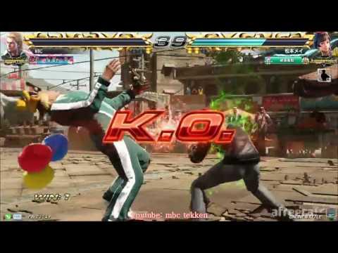 Xxx Mp4 Steve MBC Vs Josie Mei Matsumoto 01 22 2016 스티브 엠아재 Vs 조시 마츠모토 메이 Tekken7 Rankmatch 鉄拳 3gp Sex