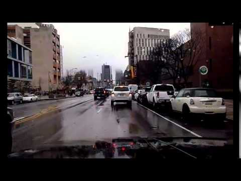 Driving in Philadephia: 34th & Market to I-95