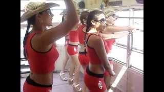 Hot latin women dancing