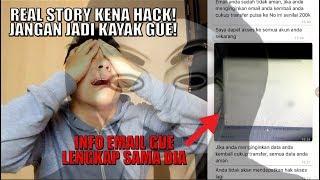 EMAIL UTAMA GUE DIHACK (+ SCREENSHOT CHAT)! STRES SEMUA DATA GUE DI TANGAN HACKER!