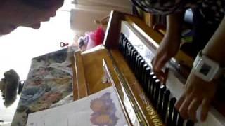 Mia Sarah on the Piano