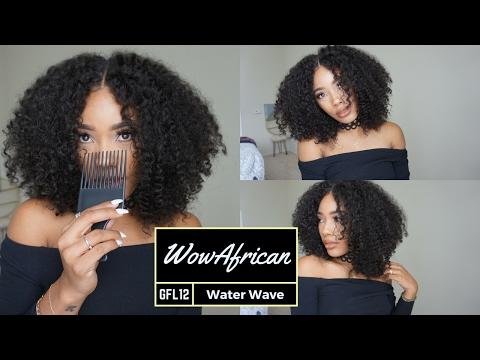 Big Hair Dont Care!: WowAfrican Water Wave Brazilian Lace Wig[GFL12]